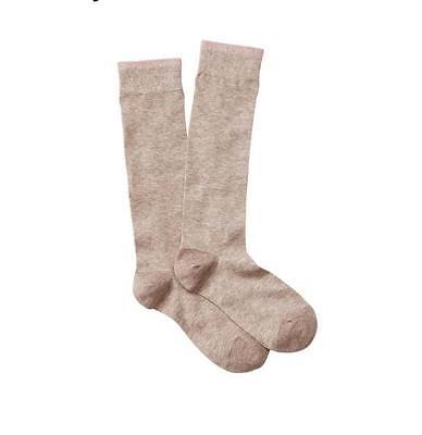 NWT Ann Taylor Loft Opaque Black Boot Socks One Size  #186152  # 352236 # 288453