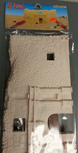 ALAMO-TOY-SOLDIER-ACTION-FIGURE-SET-FRONT-OF-FORT-AND-2-EARTHWORKS