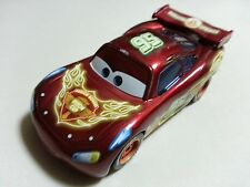 Mattel Disney Pixar Cars Neon Racers Lightning McQueen Metal Toy Car 1:55 Loose