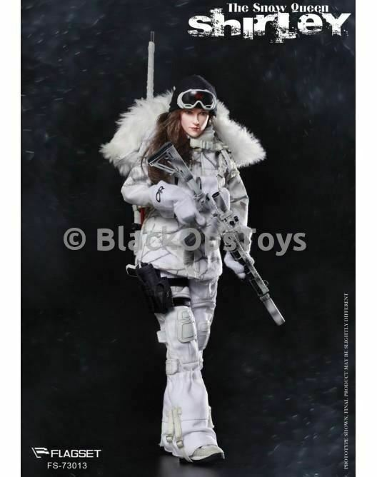 The Snow Queen  Shirley  Female Winter Operations Figure Mint in Box