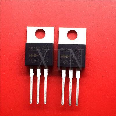 2 pcs New MUR1660CTR 1660CTR TO-220 ic chip