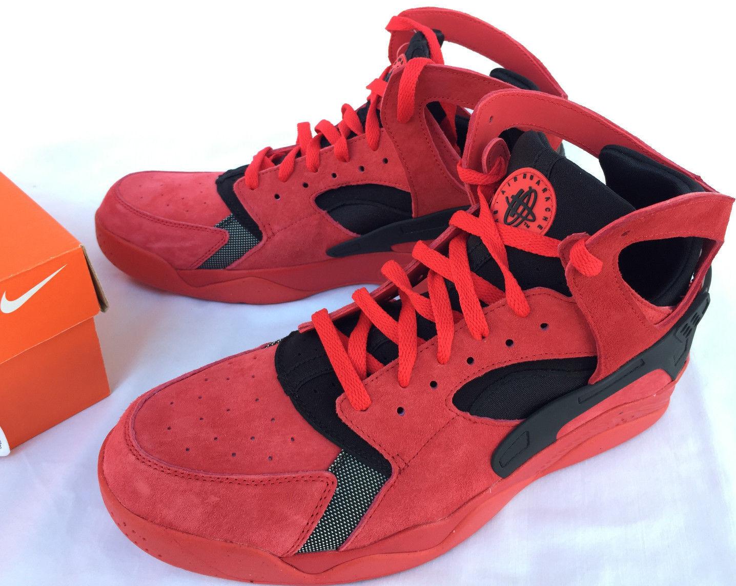 Nike Red Air Flight Huarache 705005-600 Red Nike Love Hate Pack Basketball Shoes Men's 9 4f9b27