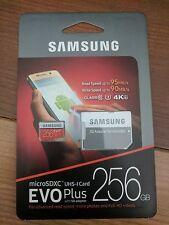 SAMSUNG Micro SD XC USH I Card EVO PLUS 256 GB MEMORY CARD SDD CLASS 10