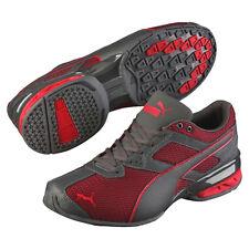 item 2 Men's PUMA Tazon 6 Mesh Athletic Shoes US-13 Asphalt/High Risk Red  189077-01 -Men's PUMA Tazon 6 Mesh Athletic Shoes US-13 Asphalt/High Risk  Red ...