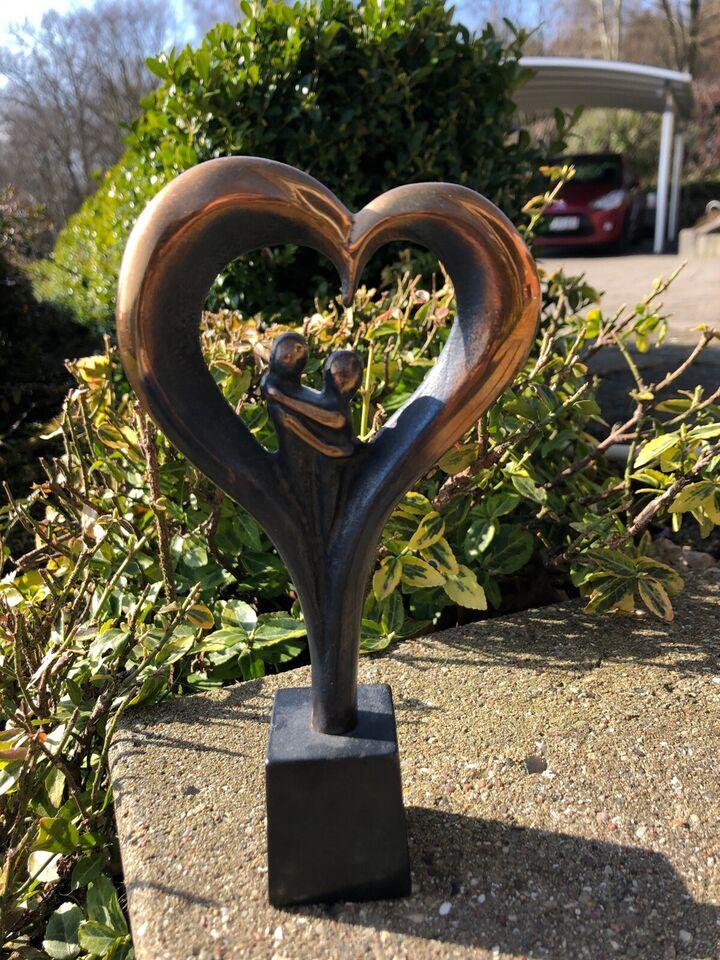 Figur, Stig Kalsing, motiv: Hjerte med par
