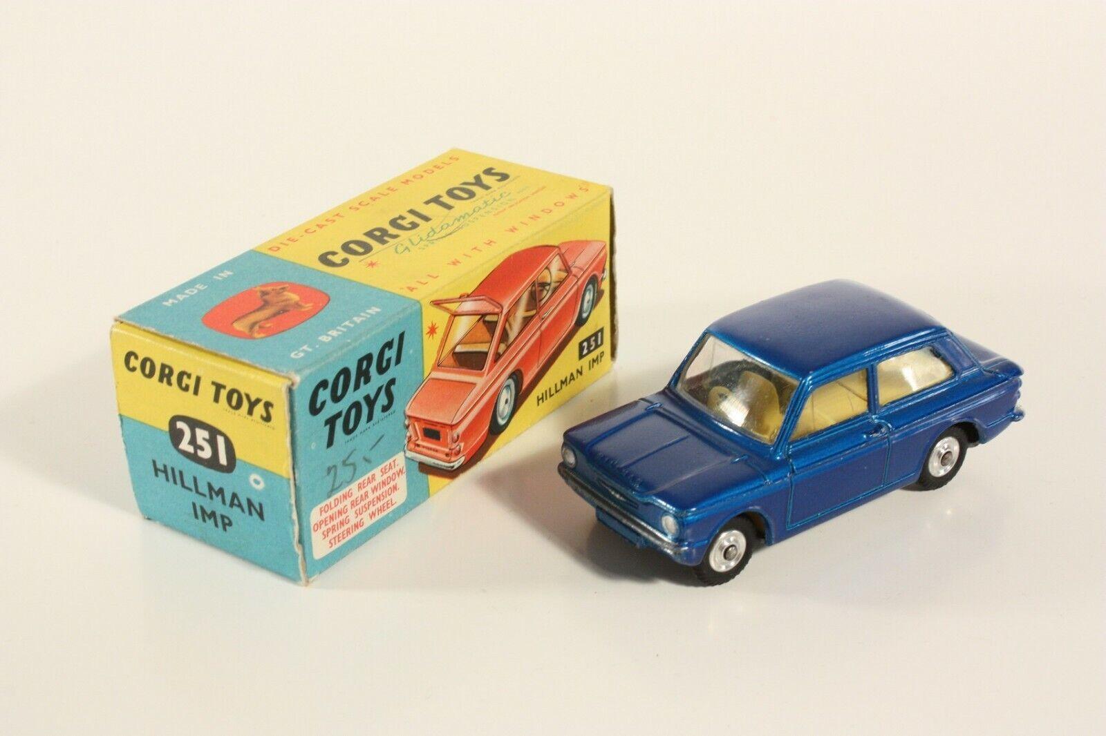 Corgi Toys 251, Hillman Imp, Mint in Box  ab2254