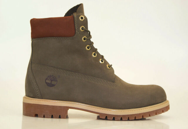 Timberland 6 Inch Premium Boots Waterproof Men Lace up Boots Shoes A1LXJ