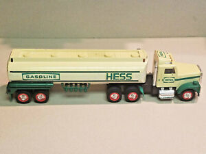 Hess 1990 Collectible Toy Gasoline Tanker Truck With Working Lights Sound Ebay