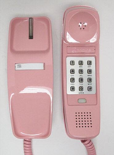 Full Restoration Pink Western Electric Trimline TouchTone Desk Telephone