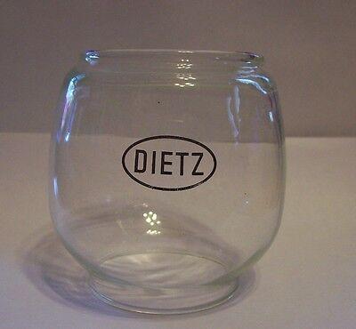 "DIETZ Lantern ~ Fits Model #20 /""Junior/"" ~ Replacement Glass Globe ~ #G8103"