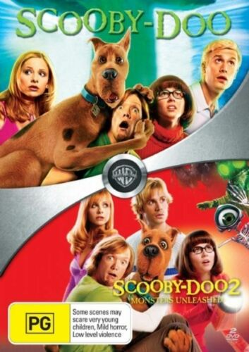 1 of 1 - Scooby Doo / Scooby Doo 2 Monsters Unleashed / 2 movie pack DVD R4 NEW