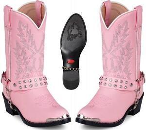 066f231fad512c NEW Durango Boots Childs KID s Pink Rhinestones Western Cowboy Boots ...