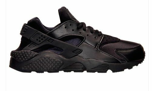 Nike Nike Nike Air Huarache Run Triple Black Women 634835-012 Black out OG Authentic 2646fa