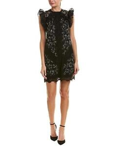 a6f3b4d32dd Image is loading Rebecca-Taylor-sleeveless-silk-moonflower-embroidered-dress -2-