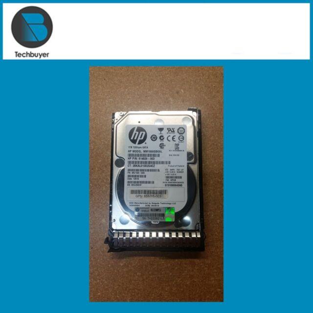 HP 1TB 6G SATA 7.2K 2.5INCH SC MDL HDD 656108-001
