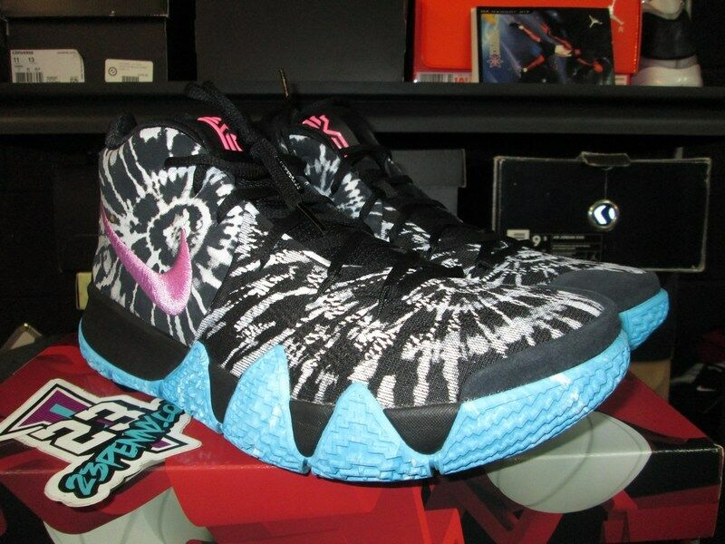 Nuove nike kyrie 4 come all star game di venice beach sz 11 - 14 aq8623 001 iv irving