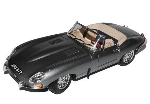 Jaguar E-Type Cabrio Grau 1961-1974 18-12046 1//18 Bburago Modell Auto mit oder..