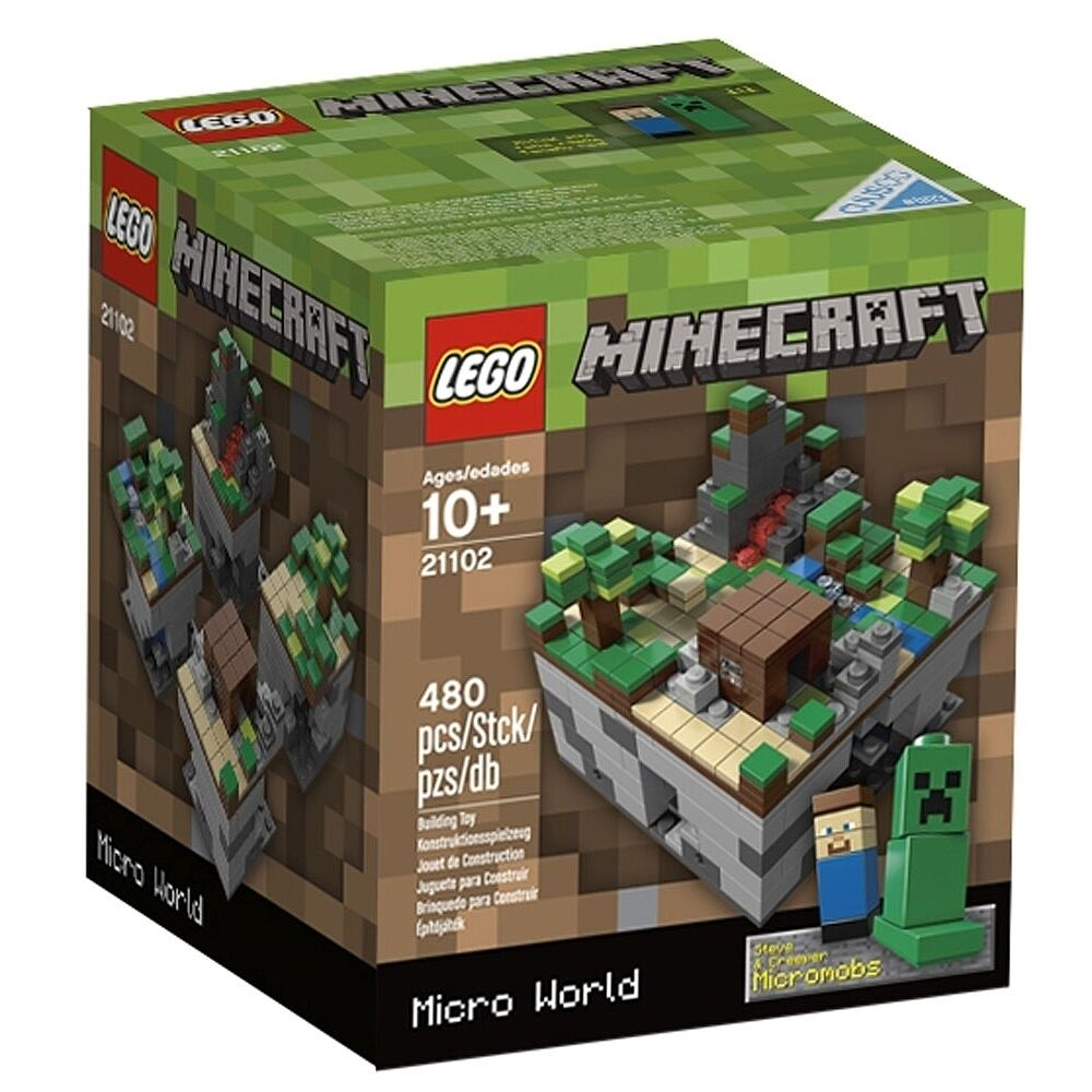 5e72891941d NEW Lego Minecraft Micro 21102 Cuusoo Original building set FREE SHIPPING  World nthcjb317-LEGO Complete Sets   Packs
