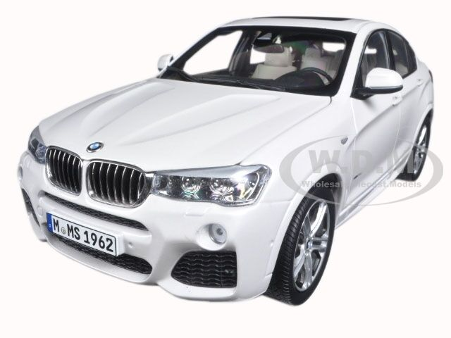 BMW X4 (F26) MINERAL WHITE 1 18 18 18 DIECAST MODEL CAR BY PARAGON 97093 8d84ce