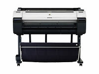 Canon Imageprograf Ipf770 36 Large Format Color Inkjet Printer Plotter