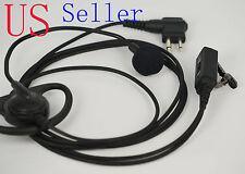 D-Shape Earpiece/Headset Boom Mic VOX/PTT For Motorola Radio CLS1450 MU11C SP10