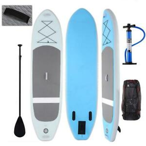 ANcheer-10-039-6-034-Thick-Inflatable-SUP-Stand-Up-Paddle-Board-Package-w-Paddle-US