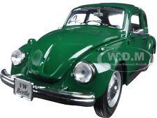 1973 VOLKSWAGEN BEETLE GREEN 1:24 DIECAST MODEL CAR BY MAISTO 31926