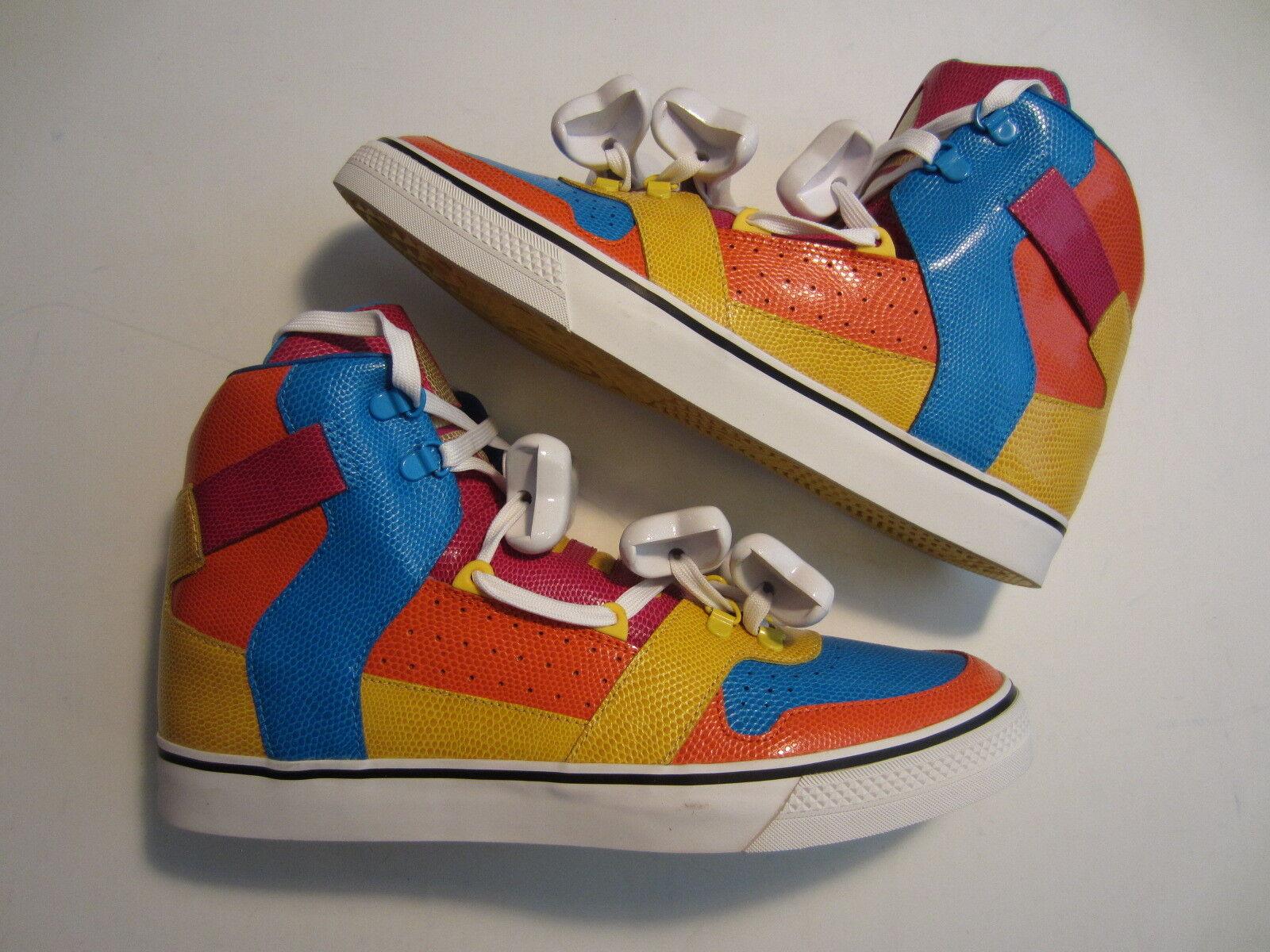 NEW Adidas Jeremy Scott Bones Multicolore men scarpe D65207 tiger tiger tiger wings poodle 11.5 8629a9
