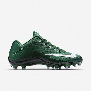 outlet store a1cec bd25a Image is loading NIKE-ALPHA-PRO-2-TD-Green-Black-Football-