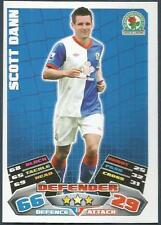 TOPPS MATCH ATTAX 2011-12- #043-BLACKBURN ROVERS-SCOTT DANN