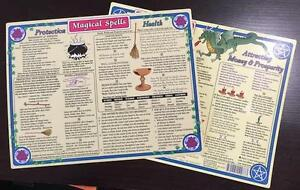 Magical-Spells-Laminated-Chart-8-5-x-11-Inches