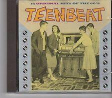 (GA346) Teenbeat, 16 Original Hits of the 60s - 1989 CD