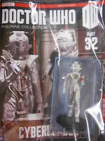 "DOCTOR WHO FIGURINE COLLECTION #32 CYBERLEADER"" (EAGLEMOSS)"