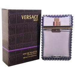 Versace Man by Versace 3.4 oz Eau de Toilette Spray for Men