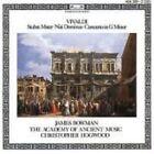 Vivaldi Stabat Mater Concerto in G Minor Nisi Dominus James Bowman Audio CD