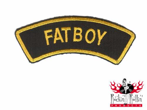 Biker ricamate-Fatboy