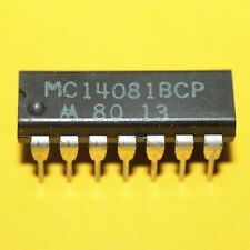 5 x mc14081bcp B-suffisso series CMOS Gates Motorola dip-14 5pcs