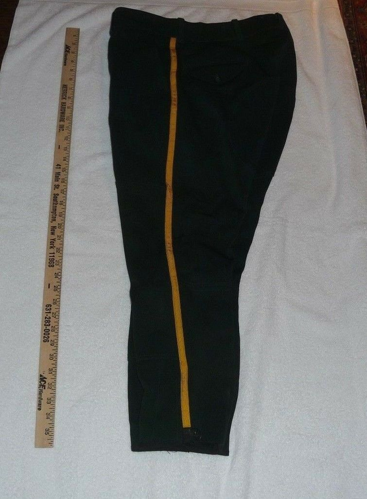 MEN'S EQUESTRIAN  RIDING PANTS - NYC AUX-POLICE FOREST GREEN SIZE 36  most preferential