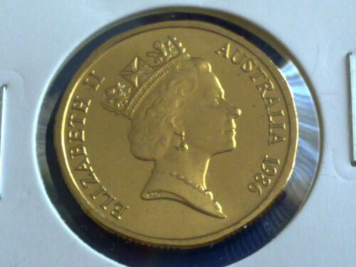 1986  AUSTRALIAN 1 DOLLAR UNC=EX.MINT UNC SET
