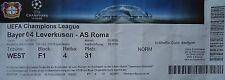 TICKET UEFA CL 2015/16 Bayer Leverkusen - AS Roma