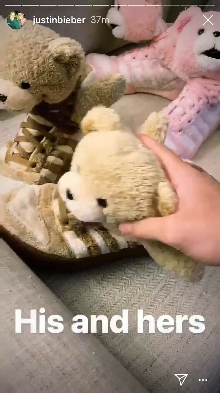 Adidas Justin Bieber Jeremy Scott Teddy Bear shoes On Instagram, Rare