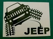 Hummer pissing vinyl sticker off road 4x4 jeep decal lifted outdoors mud crawler
