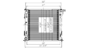 Radiator For Hyundai Tucson  13577
