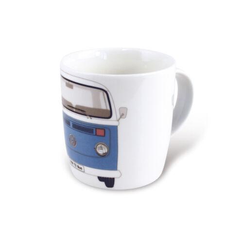 T2 Camper Van Bus Coffee Mug Cup Blue Volkswagen VW Collection by BRISA T2TA02