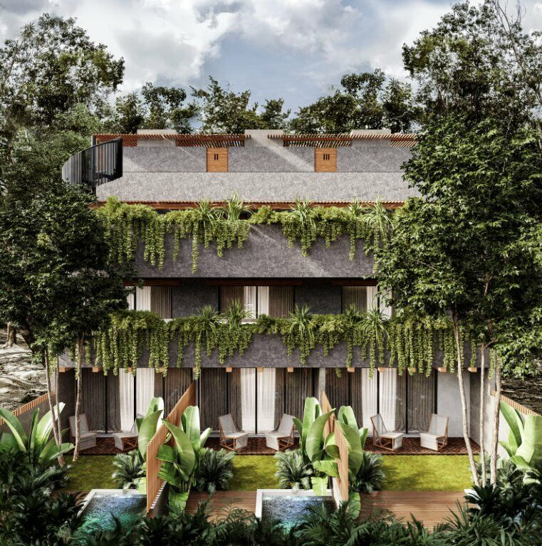 Townhouses de Lujo en La Relajante Selva