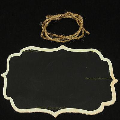 Blackboard Vintage Style Sign | Wedding Table Number Signage Display Chalkboard