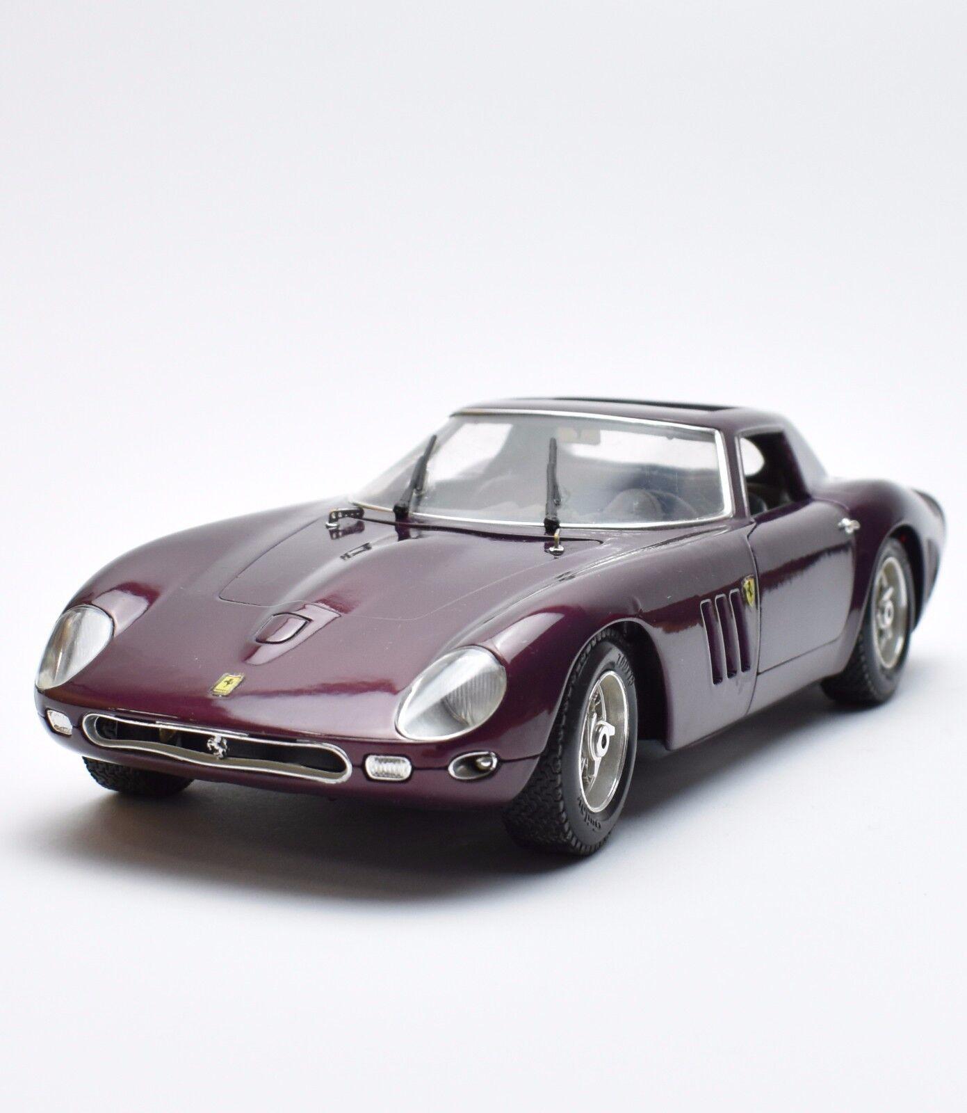 Guiloy 67257 FERRARI GTO voiture de sport violet laqué, neuf dans sa boîte, 1 18, k010