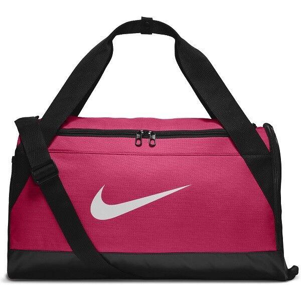 93674ed1078ab9 Nike Sports Bag Brasilia Small Duffel Pink Black-white for sale ...