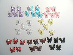 Glittered-Wire-and-Net-Butterflies-with-Gemstone-Bodies-x-5