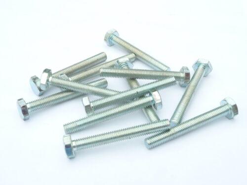 """12 BSF Bolts 1//4 x 2/""""    Bright zinc plated"""